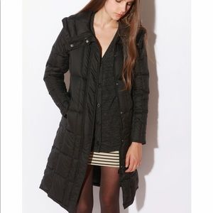 Spiewak Welmore 3/4 long black down coat